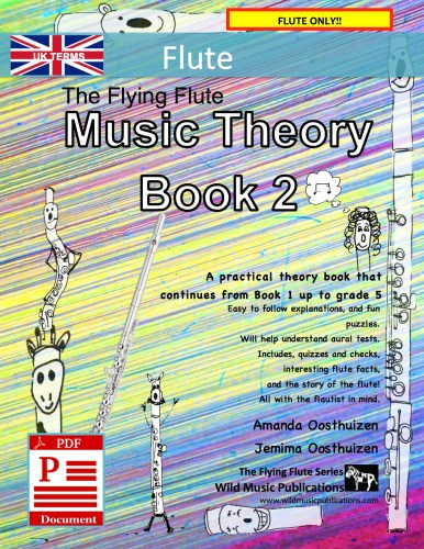 The Flying Flute Music Theory Book 2 - UK Terms Download