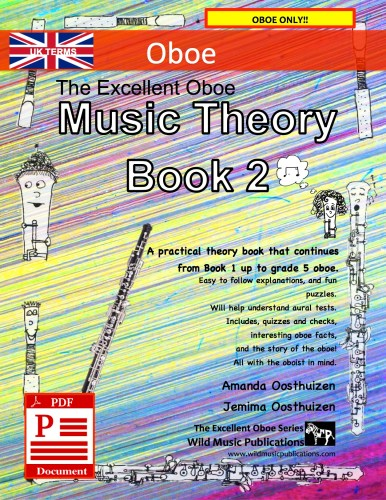 The Excellent Oboe Music Theory Book 2 - UK Terms Download