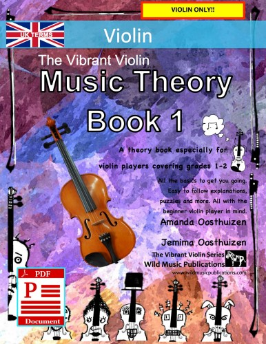 The Vibrant Violin Music Theory Book 1 - UK Terms Download