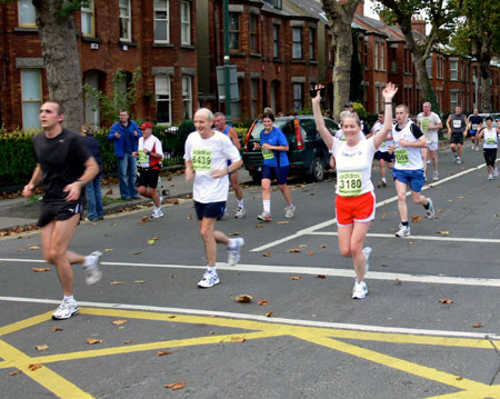 Christy O'Connor in Dublin Marathon