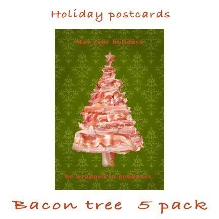 Mmmmmm.....bacon Christmas tree....