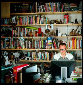 Cory Doctorow at work