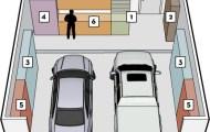 Easy Closets garage diagram
