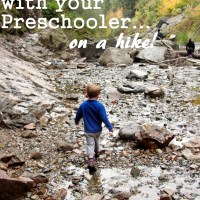 8 Things to do with your Preschooler on a Hike