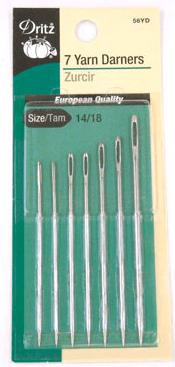 Lonewolf's needles by dritz