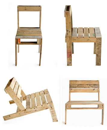 29 cool recycled pallet projects reuse recycle - Sillas hechas de palets ...