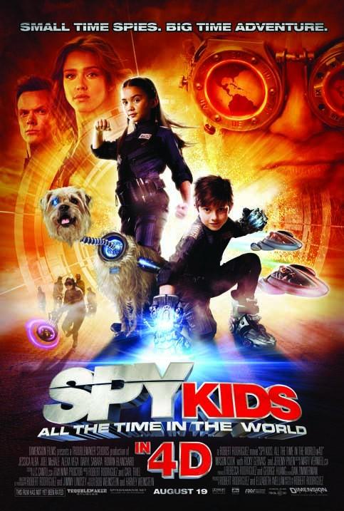 Poster do filme Pequenos Espiões 3D