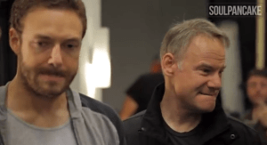 Jim Meskimen and Ross Marquand play tortured optimists who are trying to shift from impressionism to character acting.