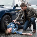 "Supernatural -- ""Don't Call Me Shurley"" -- Image SN1120A_0094.jpg -- Pictured (L-R): Sonja Bennett as Deputy Jan Harris and Jensen Ackles as Dean -- Photo: Liane Hentscher/The CW -- © 2016 The CW Network, LLC. All Rights Reserved"