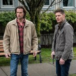 "Supernatural -- ""Don't Call Me Shurley"" -- Image SN1120A_0117.jpg -- Pictured (L-R): Jared Padalecki as Sam and Jensen Ackles as Dean -- Photo: Liane Hentscher/The CW -- © 2016 The CW Network, LLC. All Rights Reserved"