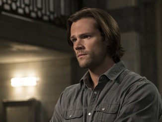 """Supernatural -- """"Alpha and Omega"""" -- SN1123a_0085.jpg -- Pictured: Jared Padalecki as Sam-- Photo: Katie Yu/The CW -- © 2016 The CW Network, LLC. All Rights Reserved"""