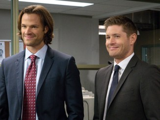 "Supernatural -- ""Plush"" -- Image SN1107B_0101.jpg -- Pictured (L-R): Jared Padalecki as Sam and Jensen Ackles as Dean -- Photo: Liane Hentscher/The CW -- © 2015 The CW Network, LLC. All Rights Reserved."