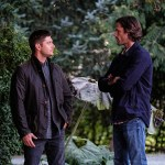 """Supernatural -- """"American Nightmare"""" -- SN1204a_0089.jpg -- Pictured (L-R): Jensen Ackles as Dean and Jared Padalecki as Sam -- Photo: Robert Falconer/The CW -- © 2016 The CW Network, LLC. All Rights Reserved"""
