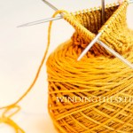 How to knit in the round on double pointed needles