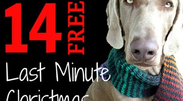 14 Quick, Easy & Free Last Minute Christmas Gift Knitting Patterns