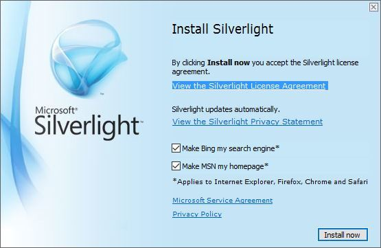 silverlight for windows 10 download
