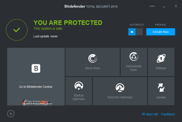 BitDefender Total Security Product Key 100% Working