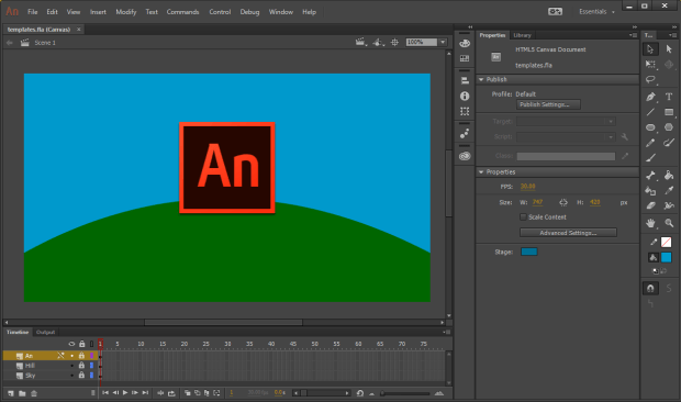 Adobe Animate CC 2017 With Crack FREE Download