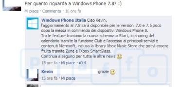 Facebook Windows Phone Italien