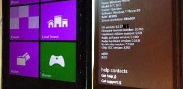 HTC HD2 mit WP8