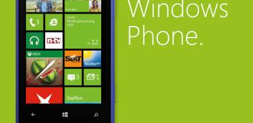 Kampagnenmotiv Windows Phone 8