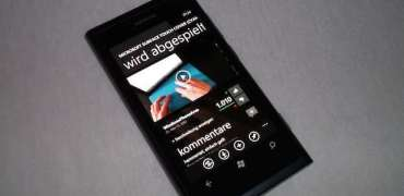 Lumia 800 MetroTube