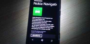 Lumia 800 Nokia Maps Update