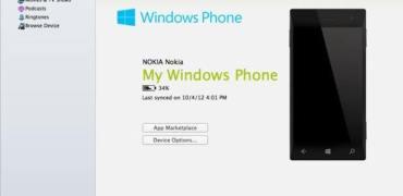 Windows Phone App für Mac