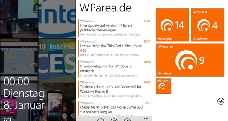 newsspot-wp8
