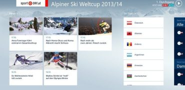 Ski Alpin Screenshot