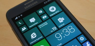 Samsung ATIV S Windows Phone 8.1 Homescreen