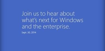 Windows 9 Einladung