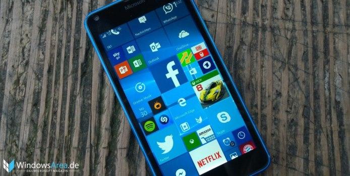 Windows 10 Mobile Build 10586.107 nun auch im Slow-Ring verfügbar