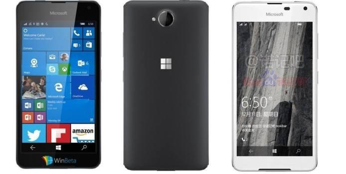 Microsoft Lumia 650 zeigt sich auf weiterem Pressebild