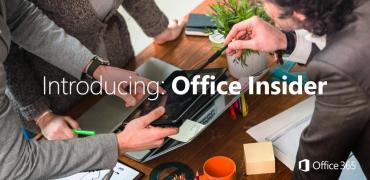 Office Insider Programm