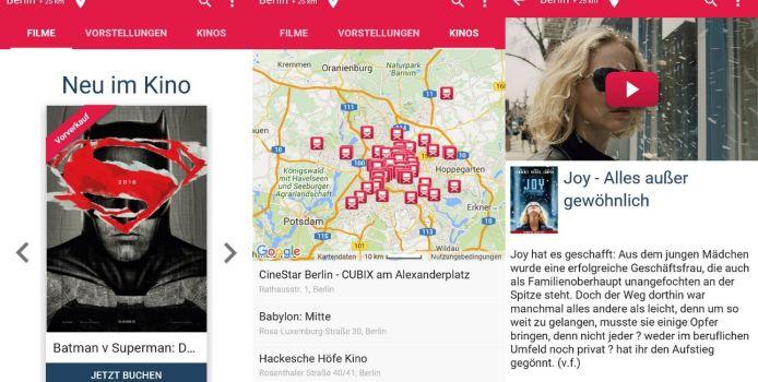 DeinKinoticket – App ist gut gemeint, überzeugt aber nicht