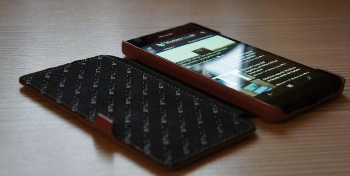 StilGut-Hüllen für das Lumia 950 (XL) unter der Lupe + Gewinnspiel