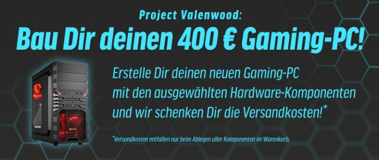 Project Valenwood Gaming PC notebooksbilliger.de