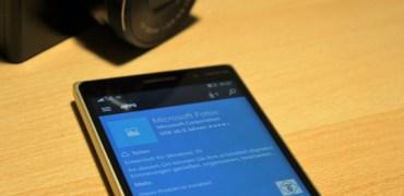 Windows 10 Mobile Fotos App Update
