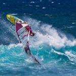 Eva Oude Ophius in action on maui
