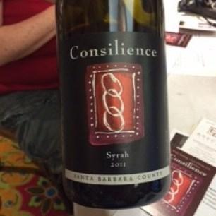 Consilience Syrah