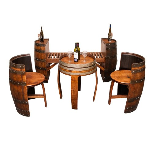 Medium Of Wine Barrel Furniture