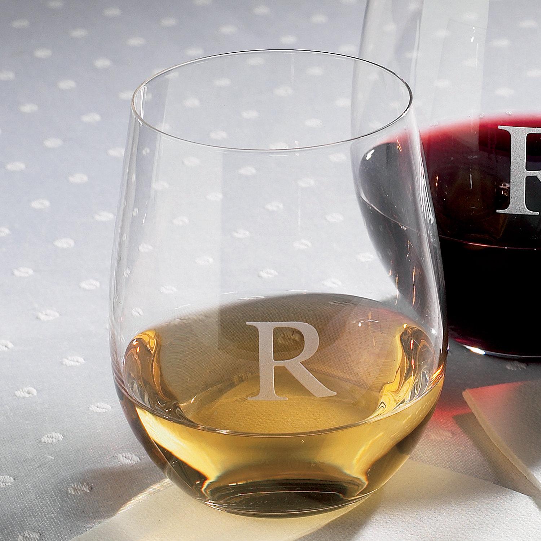 Fullsize Of Personalized Stemless Wine Glasses