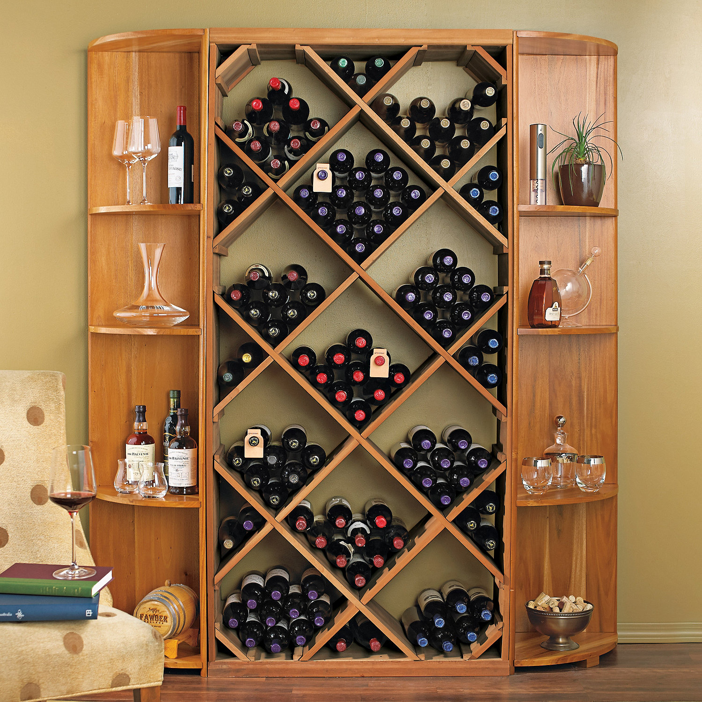 Prodigious Preparing Zoom Diy Diamond Bin Dual Quarter Round Shelf Wine Rack Set Wine Rack Cabinet Furniture Australia Wine Rack Cabinet Insert Lowes houzz-02 Wine Rack Cabinet