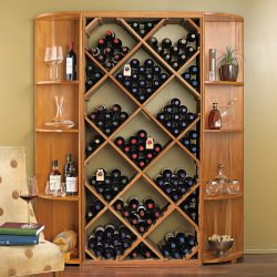 Small Crop Of Wine Rack Cabinet