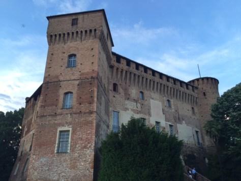 Castello di Monticello, ancestral home of the aristocratic Roero family.