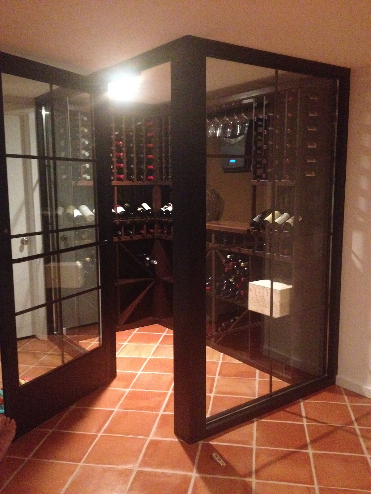 Traditional Wine Racks America Projects Gallery Wine Wine Cellar Ing Wine Rack Above American Fridge Wine Racks America Jobs houzz 01 Wine Racks America