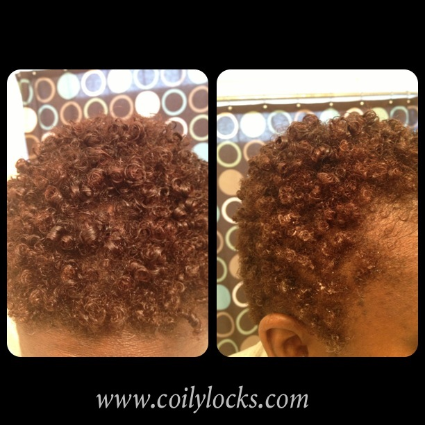 Not only are the curls popping but they are juicy too! LOL