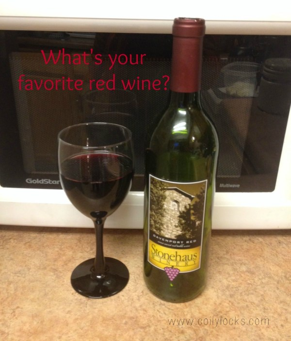 What's your favorite red wine alisha lampley coily locks