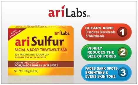 Ari Sulfur Soap